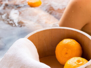 冬至の今日は柚子湯で邪氣払いを